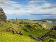 View of Old Man of Storr — Stock Photo