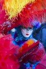 Карнавал в Венеции, известный фестиваль во всем мире — стоковое фото