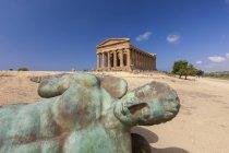 Temple of Concordia, Sicily, Italy — Stock Photo