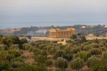 Templo da Concórdia, Sicília, Itália — Fotografia de Stock