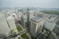 Tokyo from town hall — Stock Photo