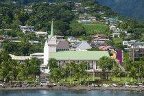 Downtown Papeete, Tahiti, Society Islands — Stock Photo