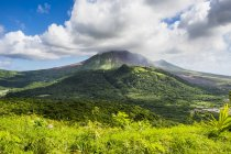 Soufriere hills volcano — Stock Photo