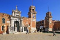 Уотергейт в арсенал из Венеции — стоковое фото