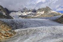 Rhone Glacier at Furka Pass — Stock Photo
