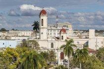 Плаза Хосе Марти, Сьенфуэгос, Куба — стоковое фото