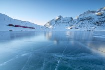 Lago Bianco, Switzerland — Stock Photo
