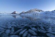 Lago Бьянко, Швейцария — стоковое фото