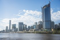 Central business district of Brisbane — Stock Photo