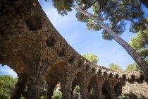 Parc Guell, Barcelona, Catalonia — Stock Photo