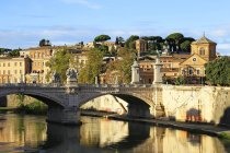 Tiber River, Rome — Stock Photo