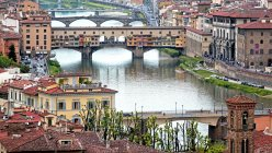 Ponte Vecchio Bridge — Stock Photo