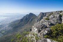 Кейптаун від столову гору — стокове фото