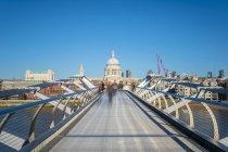 London Millennium Footbridge — Stock Photo