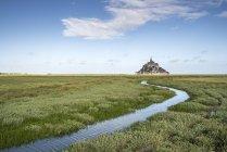 Mont Saint Michel, Normandie, france — Photo de stock