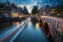 Amsterdams southern canal rings — Stock Photo