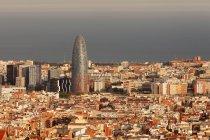 View of Barcelona, Catalonia — Stock Photo
