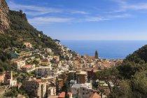 Amalfi and Torre dello Ziro — Stock Photo