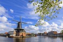 Windmill De Adriaan — стоковое фото