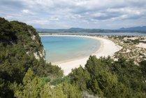Voidokilia пляж на Пелопоннесі — стокове фото
