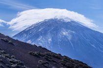 Teide volcano and Teide National Park — Stock Photo