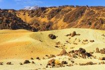 Пемза каменные поля — стоковое фото