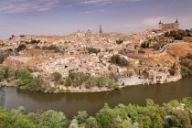 Tajo River at Santa Maria Cathedral — Stock Photo