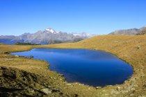Голубые озера Campagneda — стоковое фото