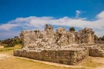 Tulum ruins, Yucatan — Stock Photo