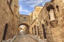 French Chapel and Inns, Rhodes — Stock Photo