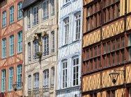 Фахверкові будинки, Руан — стокове фото