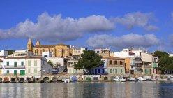Porto Colom, à Majorque, îles Baléares, Espagne, Méditerranée — Photo de stock