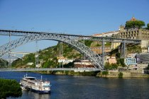 Ponte de Dom Luis I bridge — Stock Photo