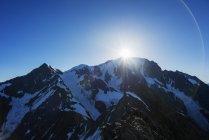 Mont Blanc mountain — Stock Photo