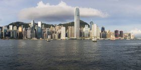 Kowloon Side of Harbour — Stock Photo