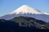 Mount Fuji in National Park in Honshu — Stock Photo