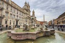 Fontana del Moro fountain — Photo de stock