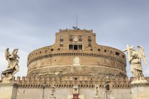 Castel Sant Angelo and Vatican area — Stock Photo