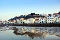 Alcacer do Sal cityscape and Sado River, Alentejo, Portugal — Stock Photo