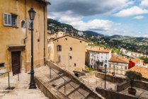 Winding stairs in Grasse — Stock Photo
