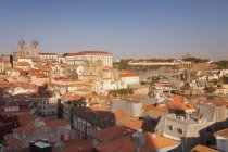 Ribeira District with Se Cathedral — Stock Photo