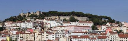 Castelo de Sao Jorge castle — Stock Photo