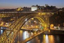 Ponte Dom Luis I Bridge — Stock Photo