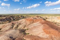Formações de rocha sedimentar branco Stupa — Fotografia de Stock