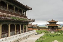 Temples in Amarbayasgalant Monastery — Stock Photo