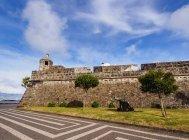 Sao Bras Fort in Ponta Delgada — Stock Photo