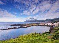 Lajes do Pico coast — Foto stock