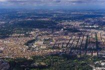 Centro intorno al fiume Tevere e la città del Vaticano — Foto stock