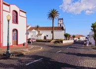 Main Church in Vila do Porto — Stock Photo