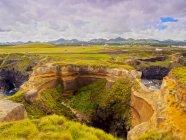 Crater in Ponta das Calhetas - foto de stock